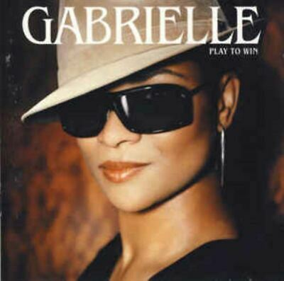 GABRIELLE play to win (CD, album, 2004) RnB/swing, pop rock, very good condition