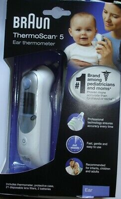 Braun ThermoScan 5 Ear Thermometer ~ IRT 6500 ~ Factory Sealed Box ~