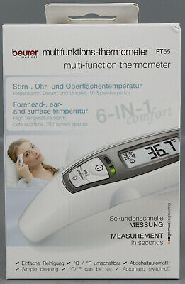 Beurer FT 65 - Thermometer Fieberthermometer Stirnthermometer Ohrthermometer SS1