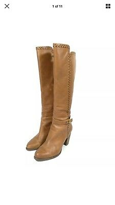 7e18e14af9a NEW UGG AUSTRALIA Claudine Women's Tall Boot CHESTNUT BROWN $299 ...
