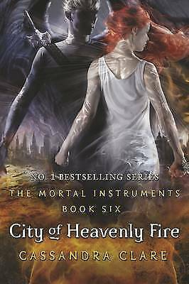 """VERY GOOD"" The Mortal Instruments 6: City of Heavenly Fire, Clare, Cassandra, B"
