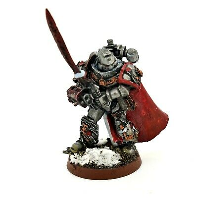 Warhammer 40K Space Marine Grey Knights Castellan Crowe