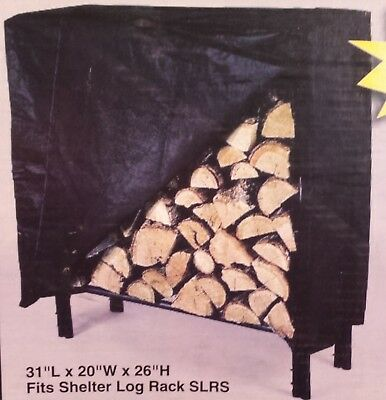 """Log Store with Cover - 31"""" x 20"""" x 26"""""""