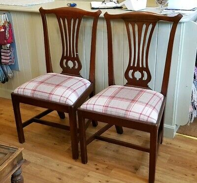 Pair Of George III Dining Chairs