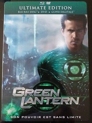 GREEN LANTERN : STEELBOOK BLU-RAY + DVD [Collector - G1 - VF]