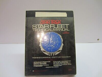 Vtg 1975 Star Trek Book Star Fleet Technical Manual TM379260