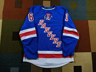 quality design 42674 c93fd NEW YORK RANGERS Rick Nash Reebok Edge Authentic Home Jersey - 46