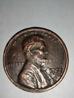 1972 Lincoln Cent Double Die Obverse DDO