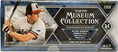 (1) 2019 Topps Museum Collection Hobby Baseball Factory Sealed Unopened Box