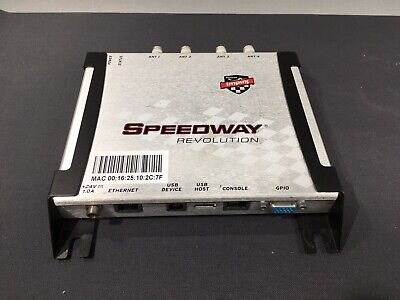 Impinj Speedway Revolution RFID Reader IP-J-REV 4 Port IP-J-RE-R420-USAM1