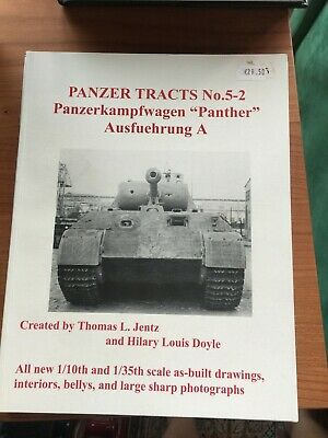 Panzer Tracts No.5-2 PzKpfW. Panther Ausf. A - by Thomas L Jentz