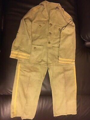 Original WW2 US made Childs Marine Corps/USAAF Uniform. As sold by Sears.