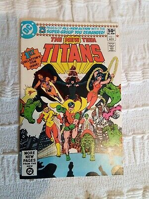 DC The New Teen Titans Issue 1 rare first bronze age