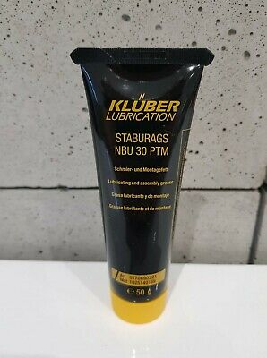 GENUINE KLUBER STABURAGS NBU 30 PTM Lubricating and assembly grease 50g