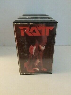 Ratt Time Coast Cassette Tape