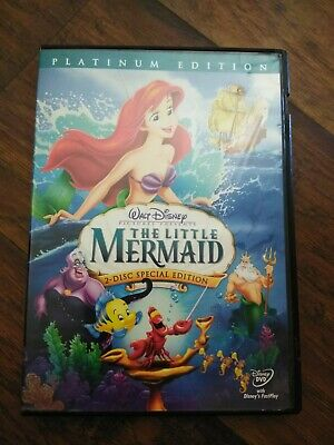 The Little Mermaid (DVD, 2006, 2-Disc Set, Platinum Edition) used copy A4