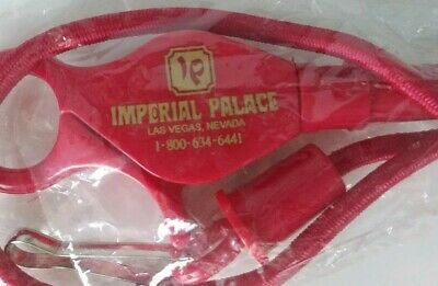 IMPERIAL PALACE Las Vegas lanyard Casino Hotel now the LINQ-Brand New/old stock