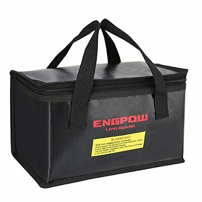 ENGPOW Fireproof Explosionproof Lipo Safe Bag for Lipo Battery Storage