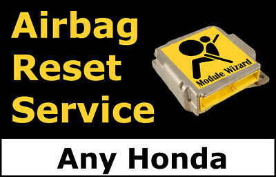 Airbag Module Reset Service For any Vehicle