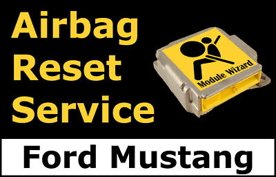 Ford Mustang: Airbag Module Reset Service, Control Unit, Computer, SRS, RCM,