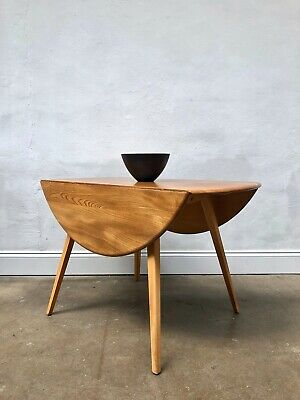 Vintage 60's Ercol Windsor Blonde Dining Table. Danish Retro. DELIVERY AVAILABLE