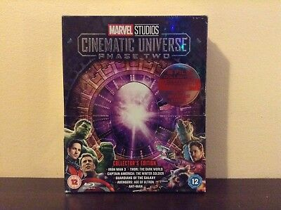 Marvel Studios Cinematic Universe Phase 2 - Collector's Edition (Blu-ray) *NEW*