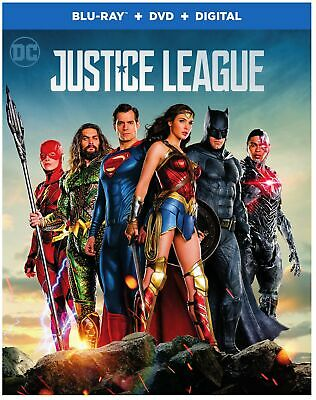 New! Justice League (Blu-ray + DVD + Digital , 2017)