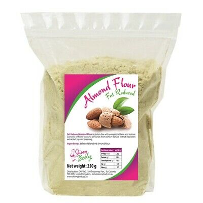 Skinny Body Almond Flour 250g, Super Fine, High Protein, Low Fat, Low Carb