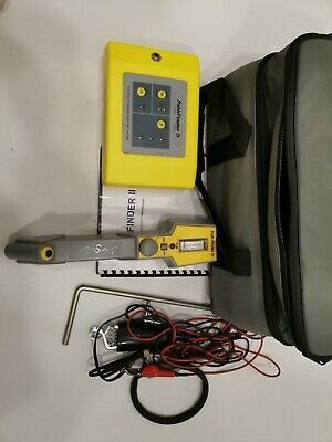 Comsonics Pathfinder 2 II Thin Cable Pipe Locator Clean Radiodetection