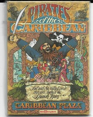 Walt Disney World Pirates of the Caribbean Plaza Attraction Magnet WDW