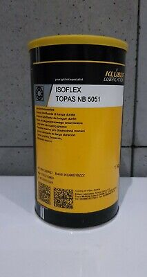 Kluber ISOFLEX TOPAS NB 5051 Synthetic long-term lubricating grease 1000g/1Kg
