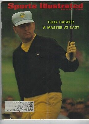 1968 Golf Digest Magazine Bob Murphy Casper Swing Tips Championship