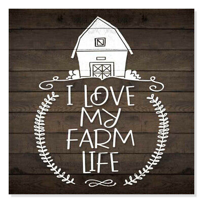 I Love Country Living Set of 3 the Farm Life Farm Living Mini Signs