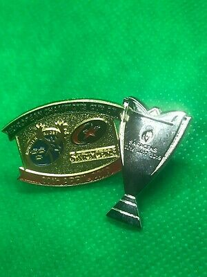 Saracens Rugby European Champions Cup Pin Badge