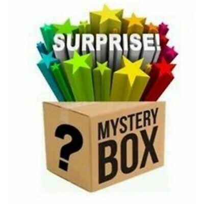 Mystery box 2! New electronics, clothing, consoles, games, dvds Minimum 7 Items