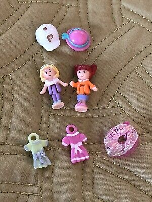 Vintage Polly Pocket Bluebird 1995 Alexia Polly  Dress Shop Replacement Figures