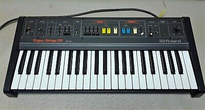 Roland RS-09 Organ Strings 09 Synthesizer Keyboard #3225