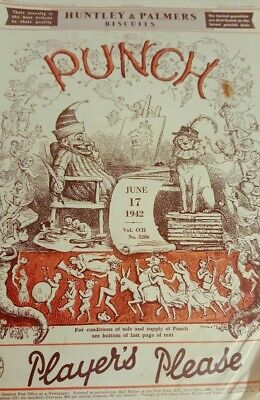 PUNCH Magazine June 17 1942 Collectable