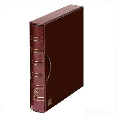 Album & Slipcase for Certified Currency Banknotes PMG PCGS - Burgundy Free Ship
