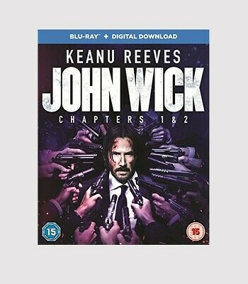 John Wick: Chapters 1 & 2 Blu-ray Action/Thriller/Martial Arts/Crime Movie
