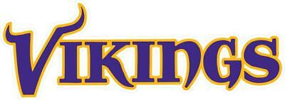 Minnesota Vikings Decal ~ Car / Truck Vinyl Sticker - Cornholes, Wall Graphics