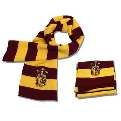 Harry Potter Vouge Gryffindor House Cosplay Knit Wool Costume Scarf Wrap Fashion
