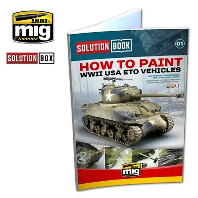 Ammo of Mig Jimenez WWII Anerican ETO Solution Book #AMIG6500
