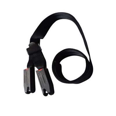 Child Kids Safe Car Seat Strap Kit Install Fixed Belt Connector Isofix Latch 1pc