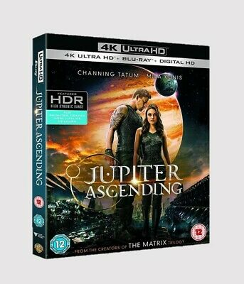Jupiter Ascending 4K Blu-ray Action/Adventure/Sci-fi/Fantasy/Romance Movie