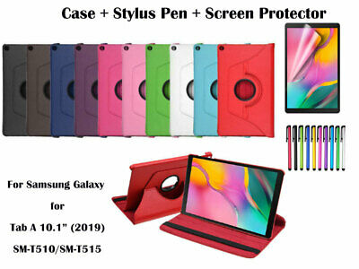 "Rotate PU Leather Cover Case for Samsung Galaxy Tab A 10.1"" [2019] T510/T515"