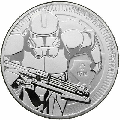 Niue 2 Dollars Once D'Argent 2019 Star Wars Clone Trooper - Soldat
