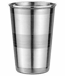 Stainless Steel Tumbler Glass Drink Water Cup Camping lassi Glass