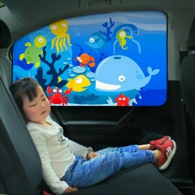 Car magnetic Curtain Sun Shade underwater Window Cover Sunshade Protector