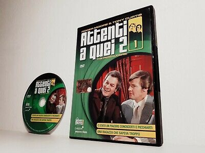 DVD ATTENTI A QUEI 2 DUE N. 1 THE PERSAUDERS Tony Curtis Roger Moore